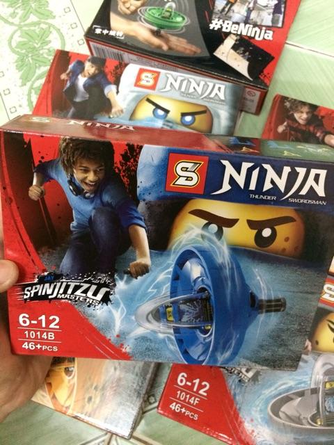 |Đồ Chơi Trẻ Em | Mẫu Mô Hình Lego SL Sy1014(A-F) Con quay NinJa SpinJitSu