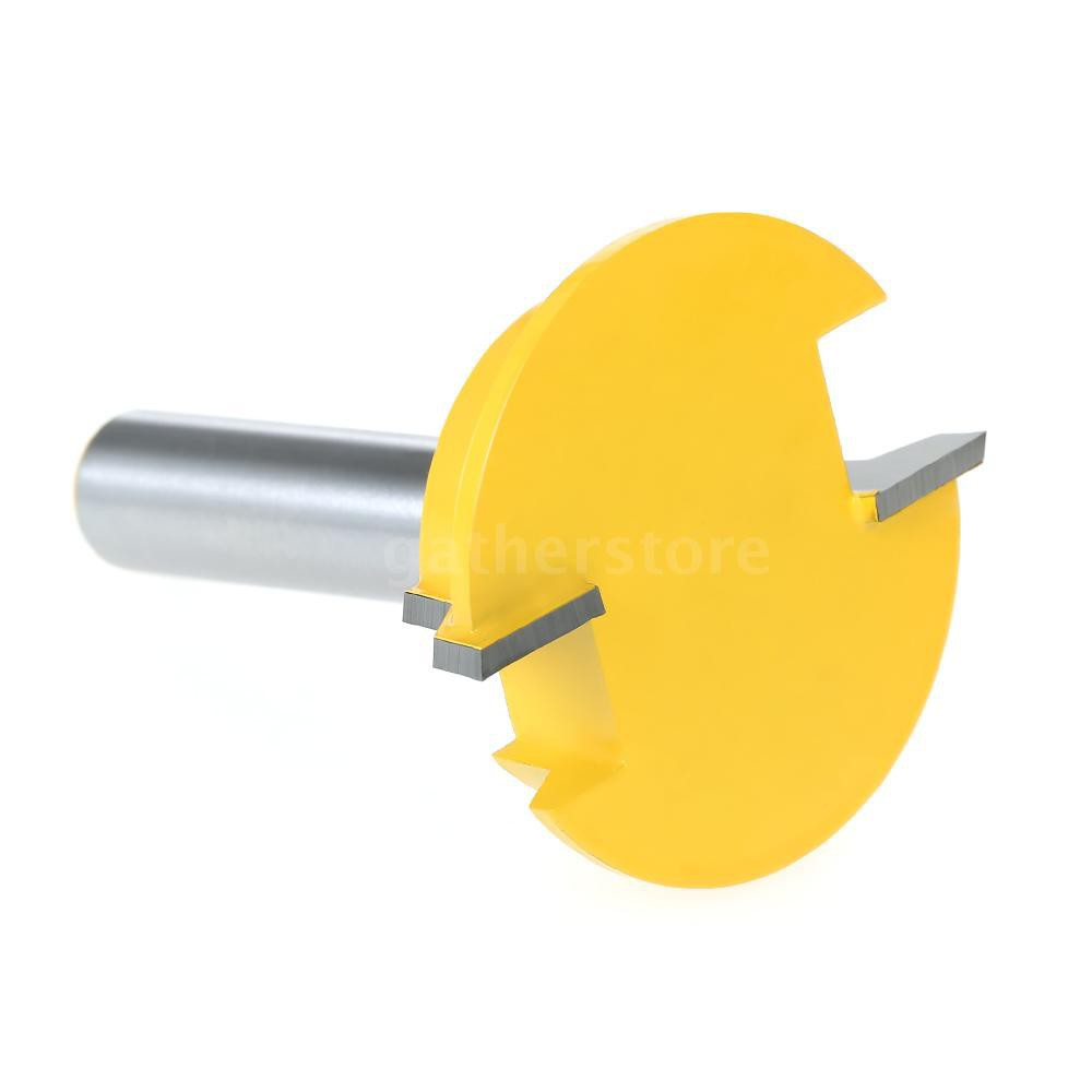 """1/2"""" Shank Drawer Front Joint Straight Rail & Stile Router Bit Milling Cutter Chisel Cutter Tool Woo"""