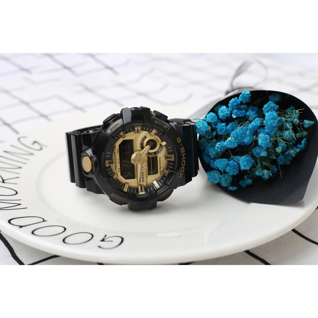ของแท้ซื้อจากต่างประเทศ casio G-SHOCKGA-700 นาฬิกาสำหรับผู้ชาย นาฬิกากีฬานาฬิกาดำน้ำ