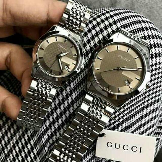 นาฬิกาแบรนด์ GUCCI G-timeless 27 mm ❤️ 38 mm.  สั่งซื้อแอด🆔Line: aisha_tookta
