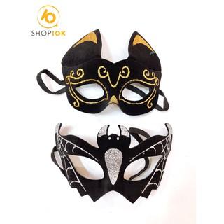 Mặt nạ Halloween tai mèo,spider man