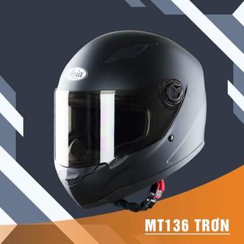 Mũ bảo hiểm Fullface Asia 136 - Form mũ gọn - bảo hành 12 tháng