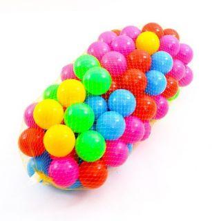 Combo 500 trái bóng nhựa nhiều màu cho bé vui chơi