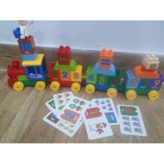 Bộ đồ chơi lego lắp ghép xe lửa
