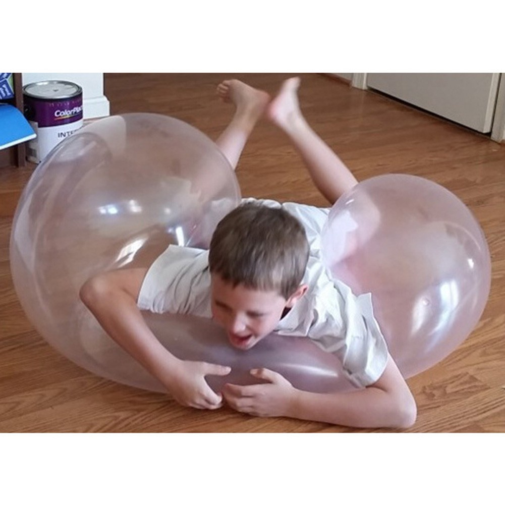 Oversized Inflatable Ball Transparent Beach Bubble Ball Filled Balloon
