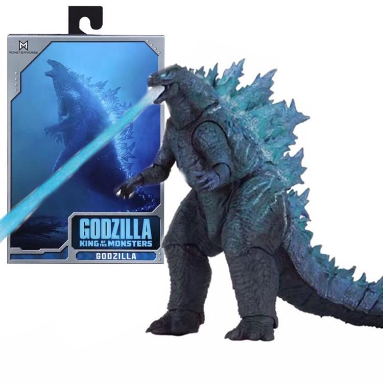 Mô hình NECA Godzilla 2019 SHM Ultraman – Figure Quái Vật Ver 2 King of the Monsters Lửa Xanh