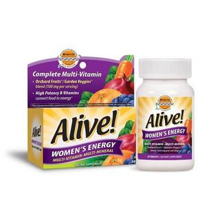 Thực phẩm bổ sung Vitamin tổng hợp Nature s Way Alive Women s Energy 50 viên thumbnail