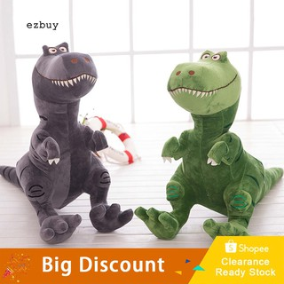 【Ready Stock】Cute Cartoon Kids Gift Simulation Tyrannosaurus Rex Apatosaurus Dinosaur Plush Toy