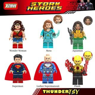 lego minifigure nhân vật siêu anh hùng