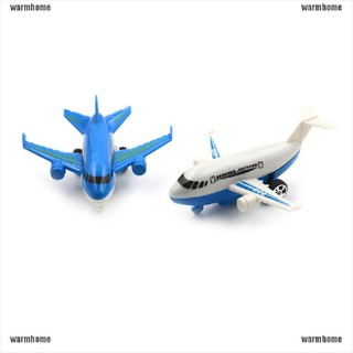 warmhome New Air Bus Model Kids Children Pull Back Airliner Passenger Plane Gift Toys thro
