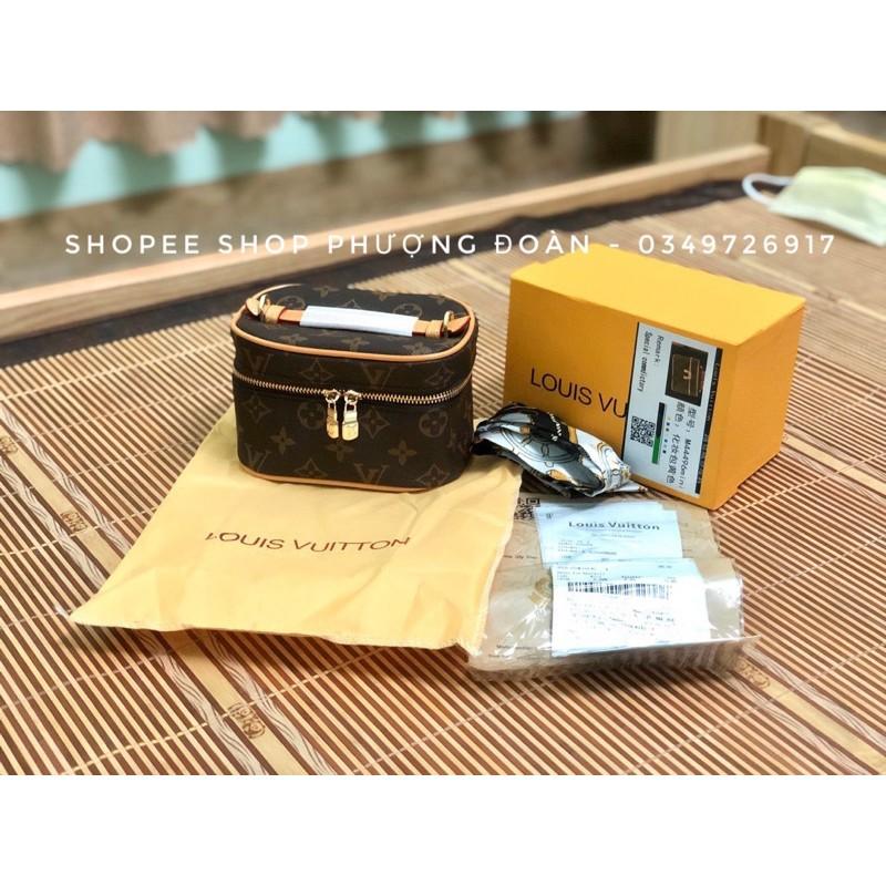Túi Trống Cặp Lồng size 16cm Vừa điện thoại Tặng kèm Khăn lụa(kèm hộp)