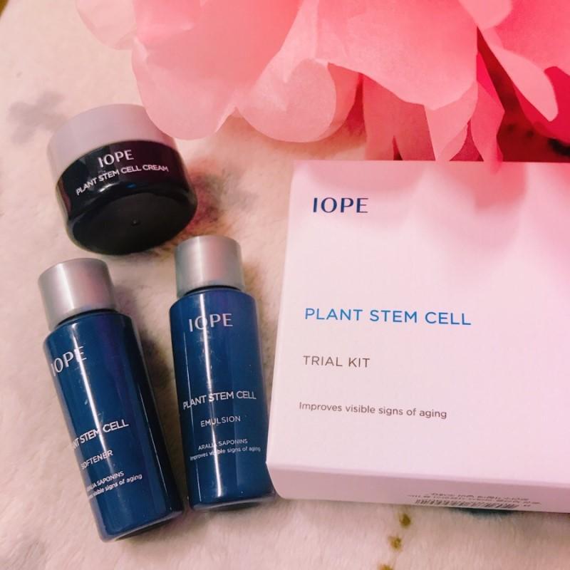Set dưỡng chống lão hóa IOPE Plant Stem Cell Trial Kit