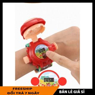 Đồng hồ điện tử SALE ️ Đồng Hồ Hoạt Hình Chiếu Hình, Dành Cho Trẻ Em Xinh Xắn Dễ Thương 5606