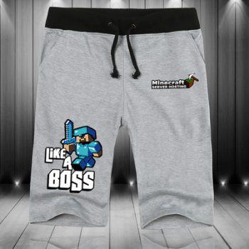 Quần xám Like a boss Minecraft