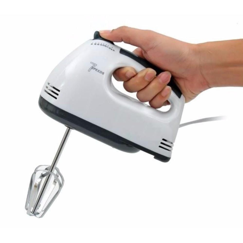 Máy đánh trứng cầm tay 7 tốc độ cho các bà nội trợ ( hàng loại 1)