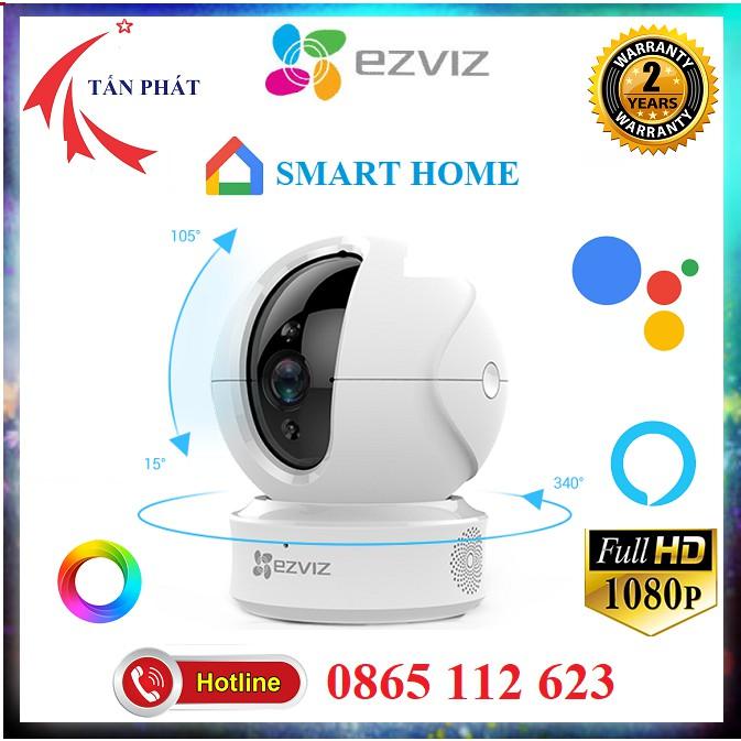 [Mẫu Mới] Camera WIFI 2M EZVIZ C6CN SMART HOME C6N CV246 720P 1080P [Hỗ Trợ Cổng