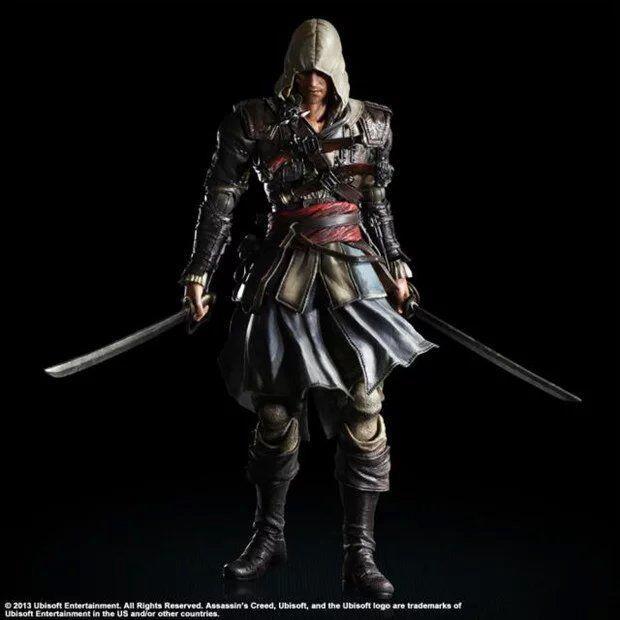 Mô Hình Nhân Vật Kai Edward Trong Game Assassin 's Creed