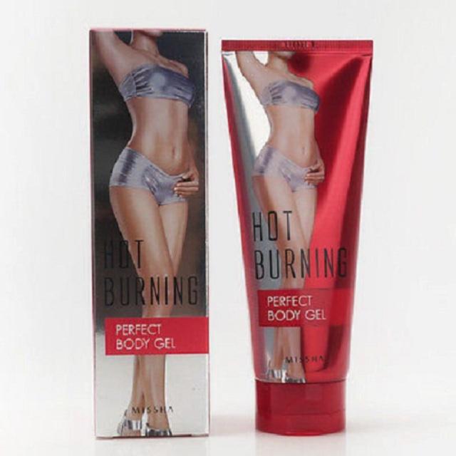 Gel tan mỡ Massage Missha Hot Burning Perfect Body Gel