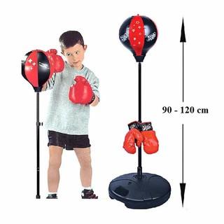 Bộ đồ chơi đấm bốc cho bé Boxing Set (có găng tay, trụ đỡ, giá đỡ)