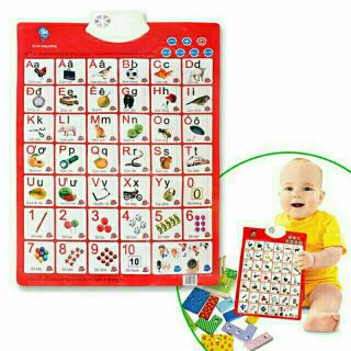 Bảng học chữ số thông minh