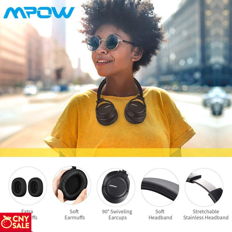 Tai nghe H7 Bluetooth không dây chất lượng cao kèm phụ kiện