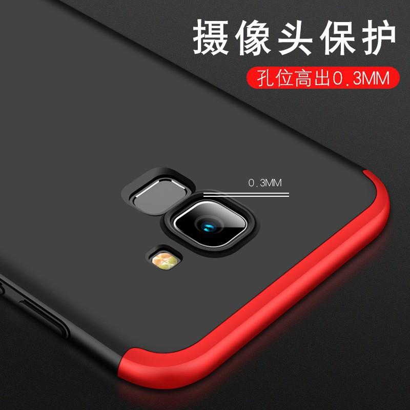 Ốp điện thoại Armor cứng 3 trong 1 bảo vệ toàn diện cho Samsung Galaxy A6 2018