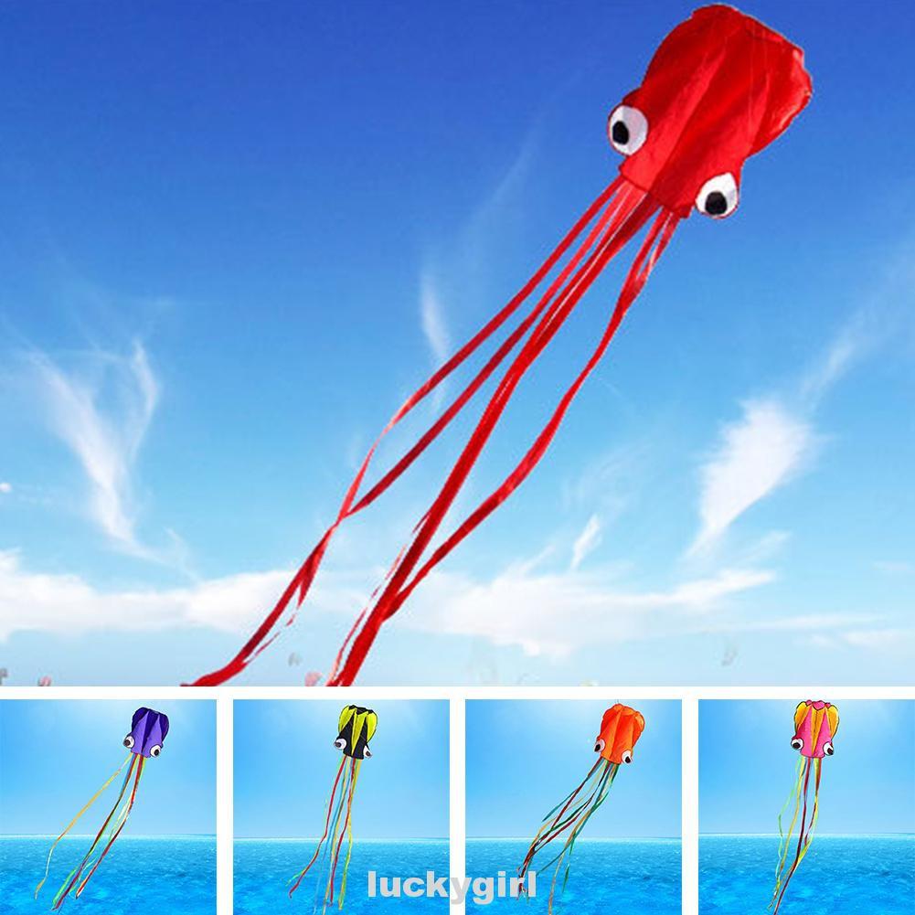 Toy Gift Foldable Portable Inflatable Entertaining No Skeleton Kite