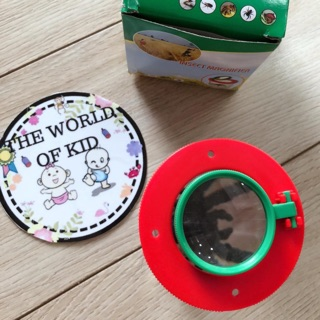 Hộp quan sát côn trùng, hộp nuôi côn trùng Insect Magnifier độ phóng đại 6 lần (6x) cho bé