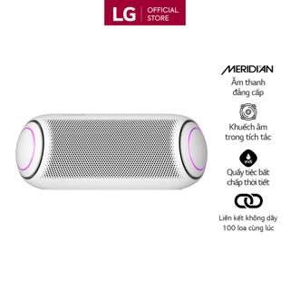 Loa Bluetooth Di Động LG Xboomgo PL7W - Hàng Chính Hãng - Màu Trắng thumbnail