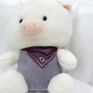 Gấu bông lợn trắng chất lượng cao