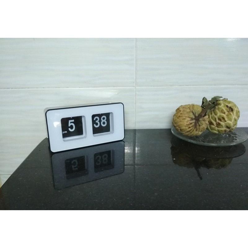 RE0464 Đồng hồ để bàn lá số lật - Đồng hồ lật để bàn - Đồng hồ để bàn