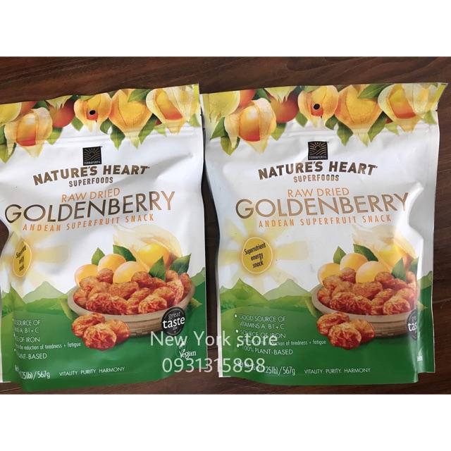 Date 11-2018. Quả Golden Berry 567g USA