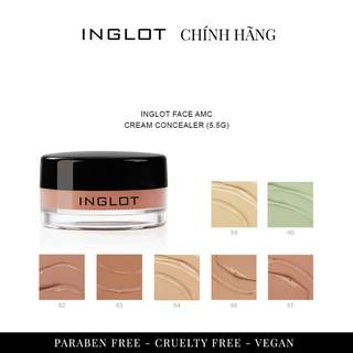 Hũ kem che khuyết điểm Inglot Face Amc Cream Concealer (5.5g) thumbnail