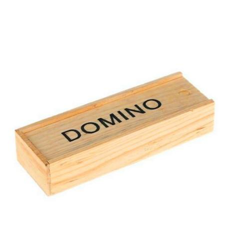 Bộ cờ domino. Hộp giấy, hộp gỗ