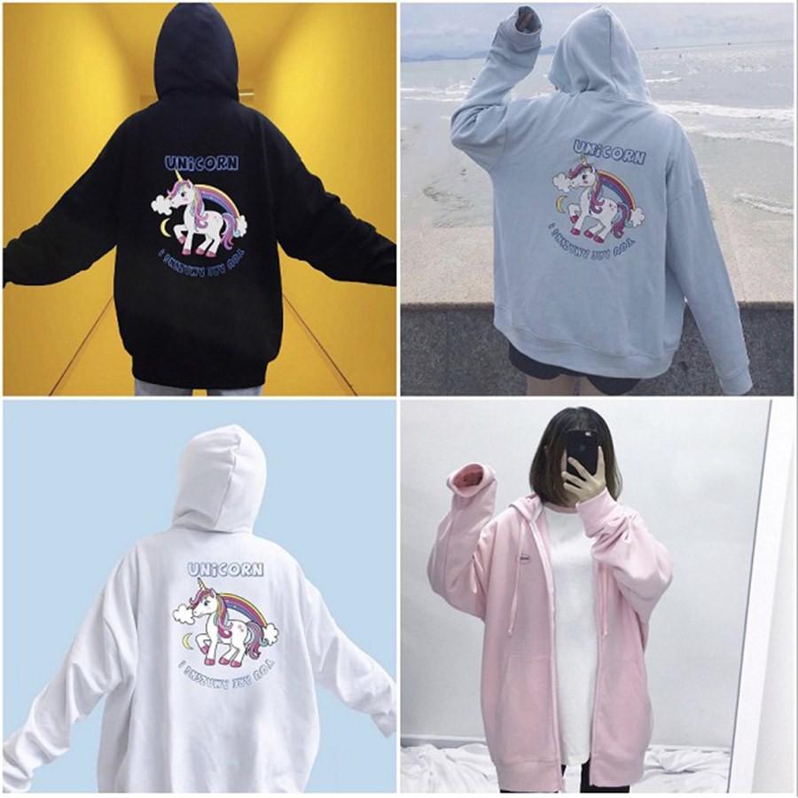 [SIÊU HOT] Áo khoác ngựa unicorn sẵn 4 màu (Sỉ từ 5sp bất kỳ)