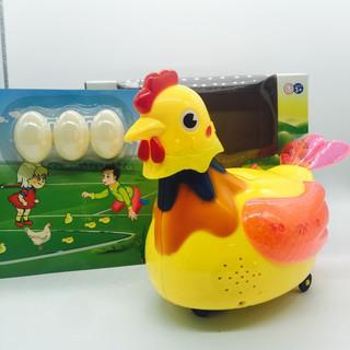 Bộ Đồ Chơi Gà Đẻ Trứng Cho Bé Size Bự 25cm