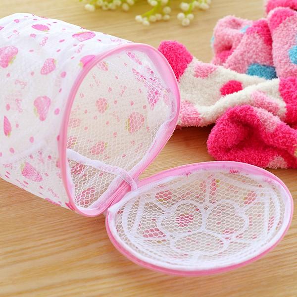 Túi lưới giặt đồ lót in họa tiết