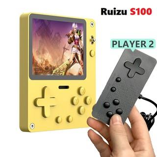Máy chơi game cầm tay nghe nhạc xem phim bộ nhớ trong 16G Ruizu S100 thumbnail