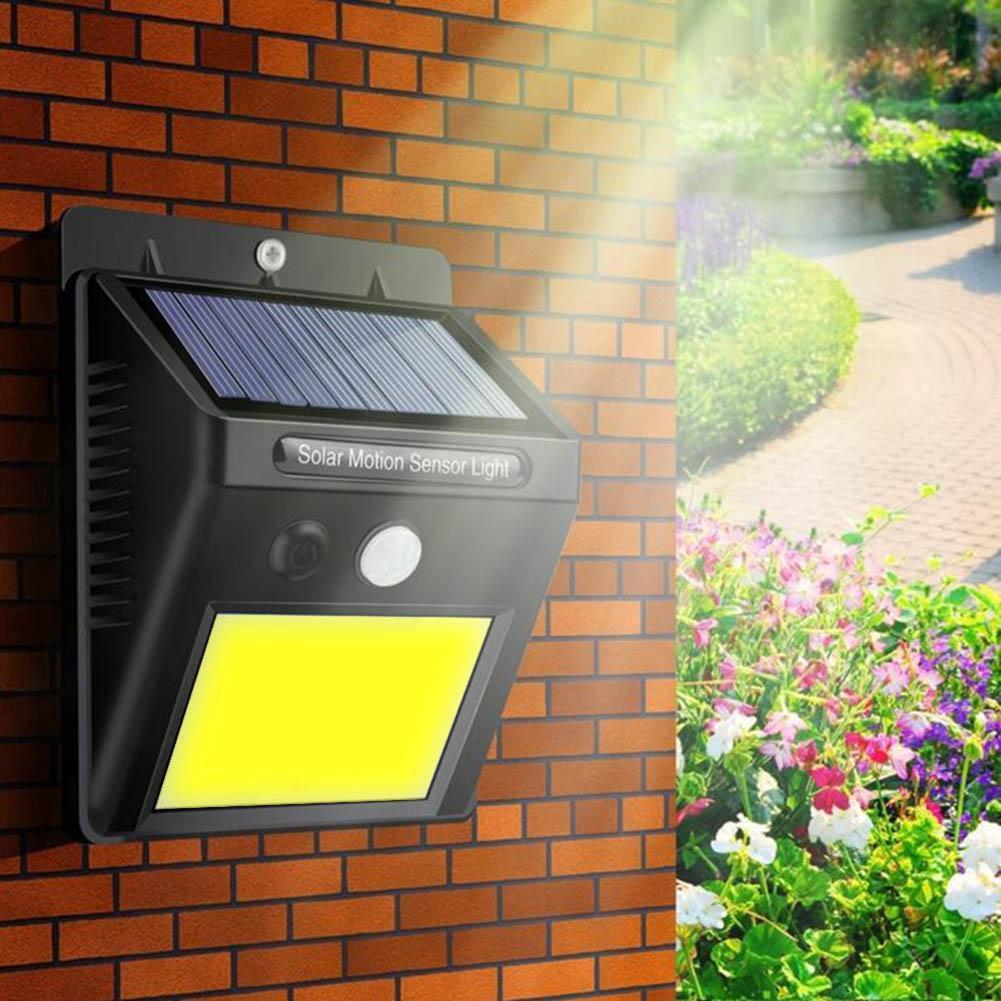 Đèn Led 48 Bóng Cảm Biến Năng Lượng Mặt Trời Chống Thấm Nước Cho Sân Vườn