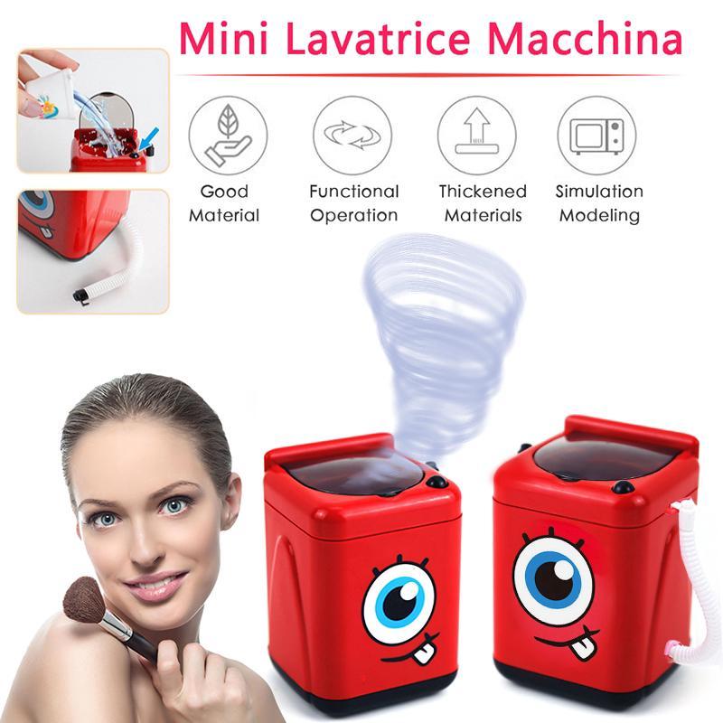 ☽ Makeup Brush Cleaner Device Simulation Automatic Cleaning Washing Machine Mini Moira