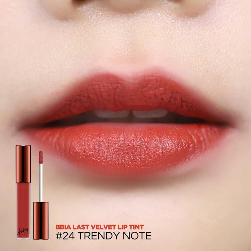 Hình ảnh Son kem lì Bbia Last Velvet Lip Tint Version 5 5g (5 màu)21 R-3