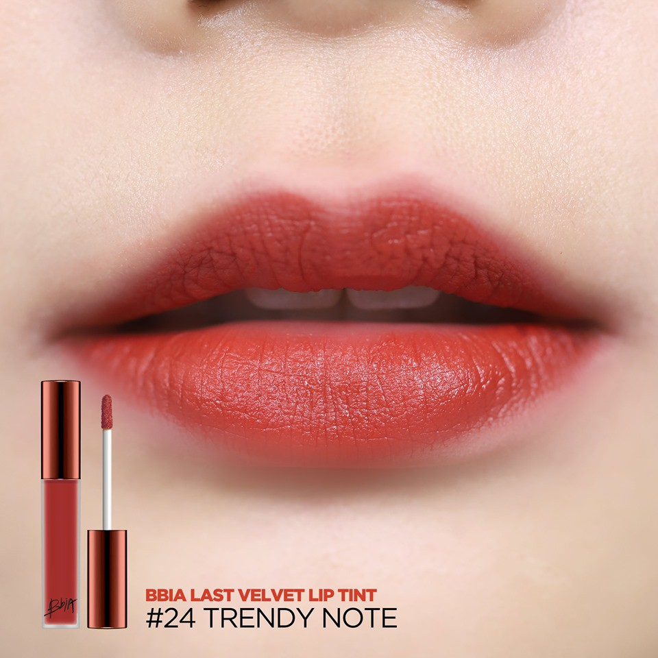Son kem lì Bbia Last Velvet Lip Tint Version 5 5g (5 màu)21 R