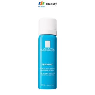 Nước xịt khoáng làm dịu da, giảm bóng nhờn cho da dầu mụn La Roche-Posay Serozinc 50ml thumbnail