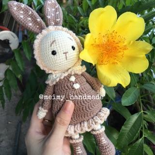 Thú len handmade – Thỏ Mimi