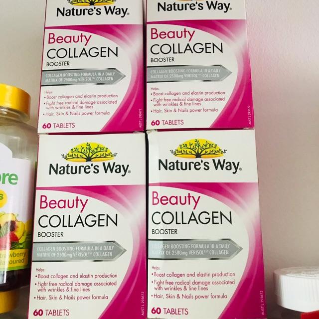 Viên uống Collagen Beauty Nature's Way (Nature's Way Beauty Collagen Booster) - 14928387 , 2334690561 , 322_2334690561 , 530000 , Vien-uong-Collagen-Beauty-Natures-Way-Natures-Way-Beauty-Collagen-Booster-322_2334690561 , shopee.vn , Viên uống Collagen Beauty Nature's Way (Nature's Way Beauty Collagen Booster)