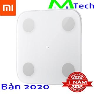 Cân Điện Tử Thông Minh Xiaomi Body Fat 2 (Mi Body Composition Scale 2) bản Quốc Tế 2020 Phân Tích 13 Chỉ Số Sơ Thể