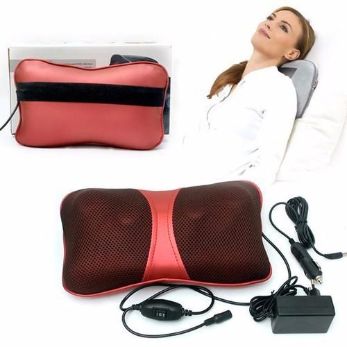 Gối massage hồng ngoại 6 bi 2 chiều Magic PL 818