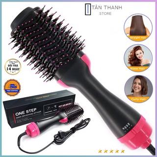 [TẶNG QUÀ] Lược điện SALE Lược điện chải tóc đa năng mượt tóc, uốn kiêm máy sấy khí tạo phồng 2 trong 1 tiện lợi thumbnail