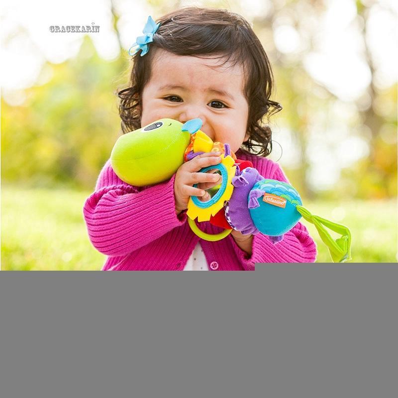 Lục lạc đồ chơi hình các con vật nhồi bông đáng yêu dành cho các bé