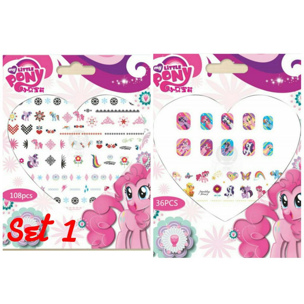 Hình dán Pony set 1